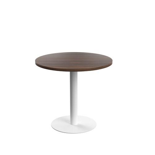 Contract Table Mid 800mm Dark Walnut
