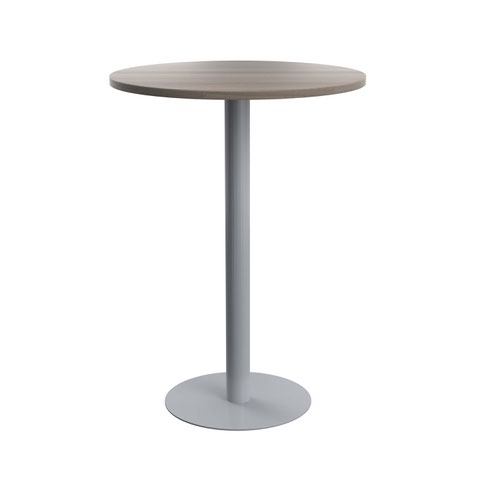 Contract Table High 800mm Grey Oak
