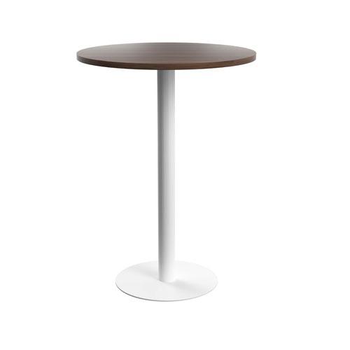 Contract Table High 800mm Dark Walnut