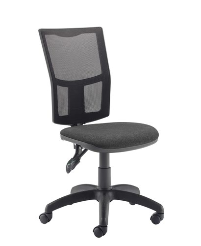 FF First Medway Mesh High Back Operator Chair Black KF90271