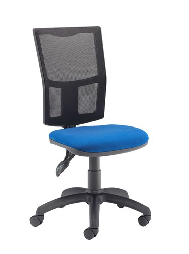 FF First Medway Mesh High Back Operator Chair Blue KF90270