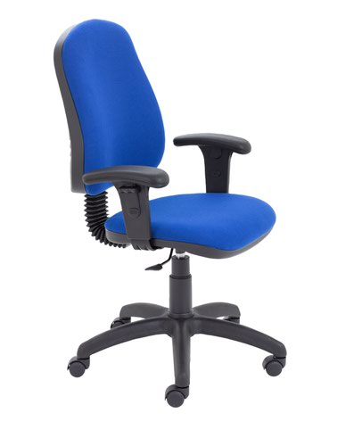 Calypso 2 Single Lever Fixed Back + Adjustable Arms Royal Blue