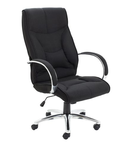 Whist Fabric Chair Black