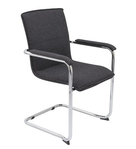 Pavia Visitor Chair Charcoal