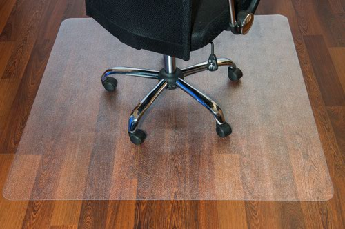 Hard Floor Rectangular Chairmat Clear 1200 x 900