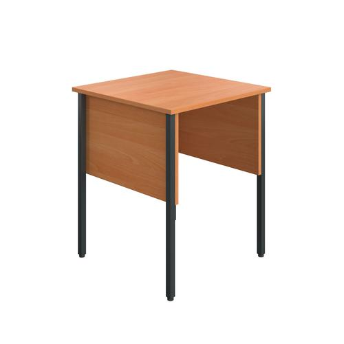 Eco Midi Homework Desk 600mmx600mm Beech KF90344
