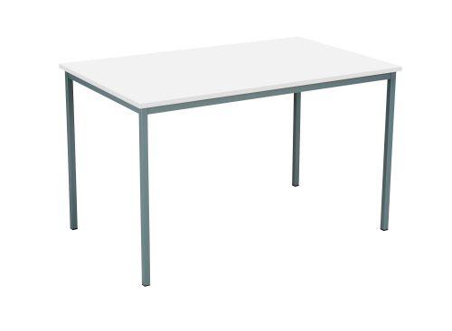 Eco 18 1200X750 4 Legged Rectangular Desk White-Black