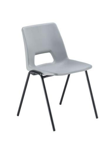 Economy Polypropylene Chair - Grey