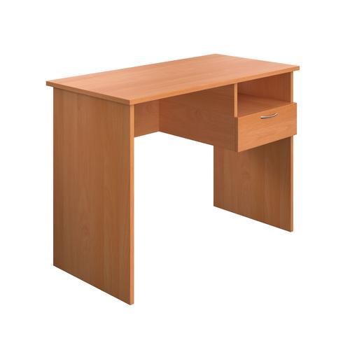 Eco 18 Homework Desk Beech 1000 x 500