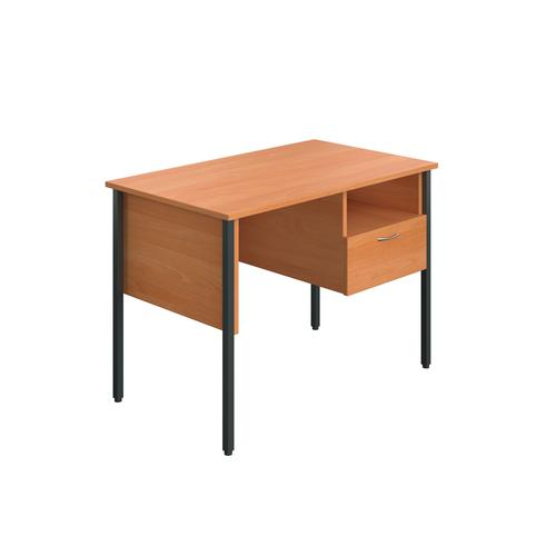 Eco 18 Homework Desk Four Leg Beech KF90355