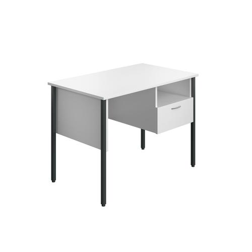 Eco 18 Homework Desk Four Leg White KF90357