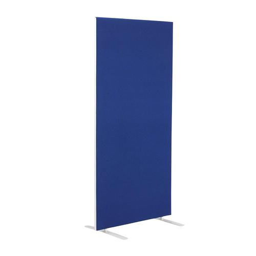 800W X 1800H Upholstered Floor Standing Screen Straight - Royal Blue