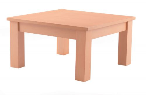 Juplo Wood Framed Square Coffee Table Beech