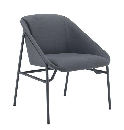 Ruby Reception Chair Grey