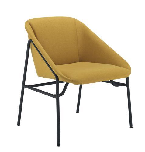 Ruby Reception Chair Mustard