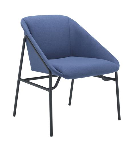 Ruby Reception Chair Navy