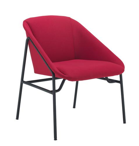 Ruby Reception Chair Red