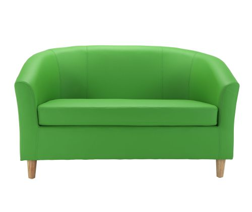 Excellent Tub Sofa With Wooden Feet Green Dailytribune Chair Design For Home Dailytribuneorg