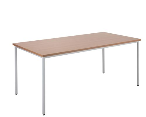 Jemini Rectangular Table 1600 x 800mm Beech OMPT1680RECBE2