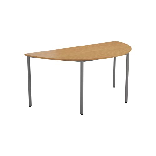 Jemini Semi Circular Table 1600 x 800mm Nova Oak KF74400