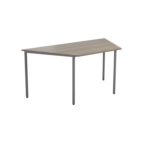 1600 X 800 Trapazoidial Multipurpose 18mm Table Desktop Grey Nova Oak