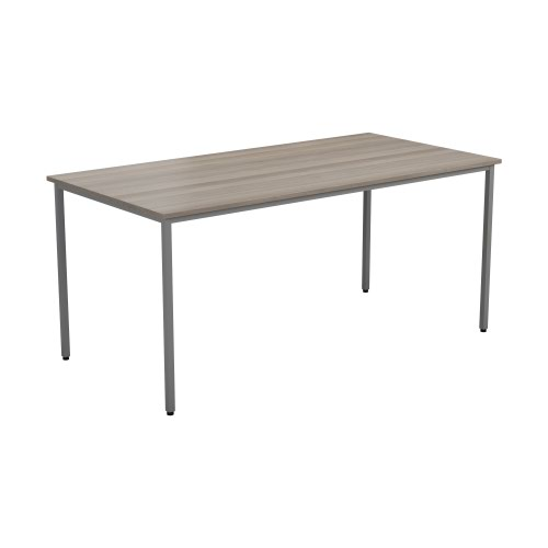 1800 X 800 Rectangular Multipurpose 18mm Table Desktop Grey Nova Oak