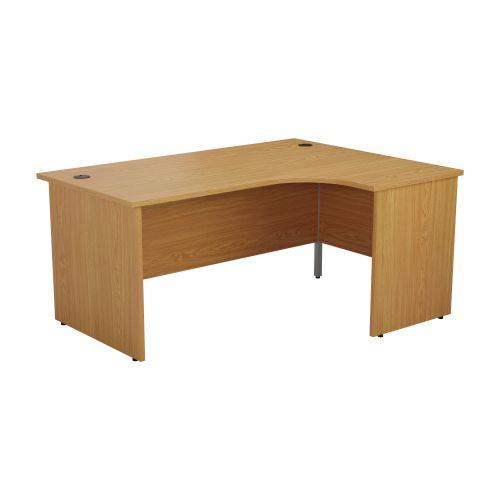1200X1200 Panel Right Hand Radial Desk Nova Oak