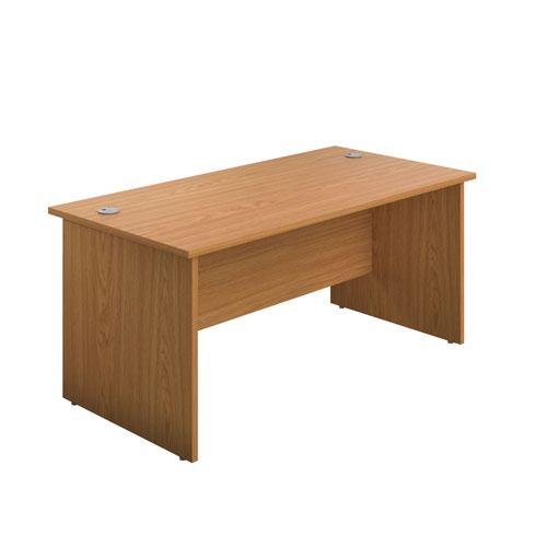 1200X600 Panel Rectangular Desk Nova Oak