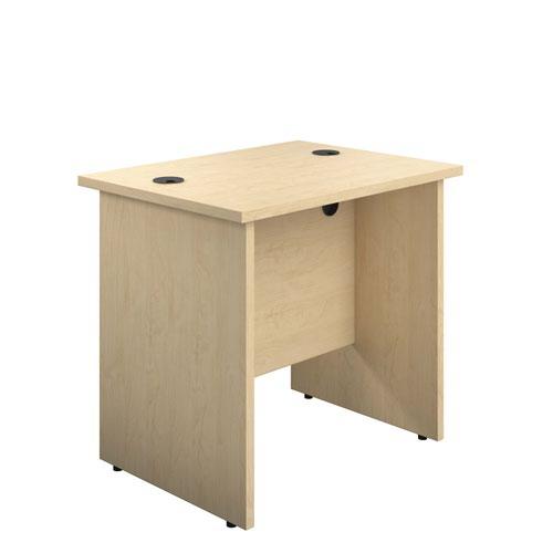 800X600 Panel Rectangular Desk Maple