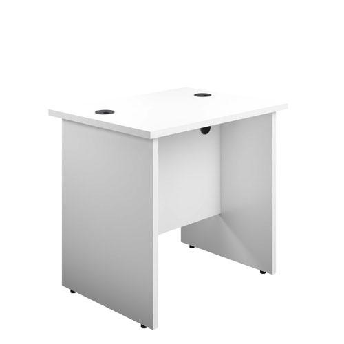 800X600 Panel Rectangular Desk White