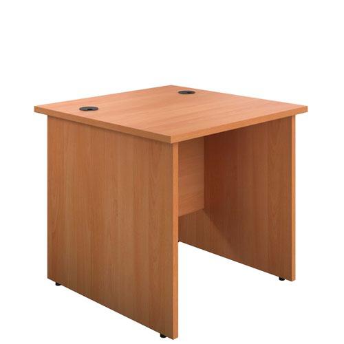 800X800 Panel Rectangular Desk Beech