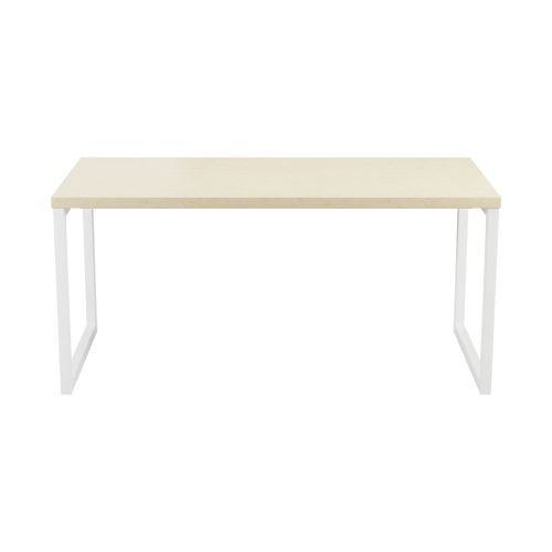 Marvelous Picnic Low Table 1600 Maple Top And White Legs Uwap Interior Chair Design Uwaporg
