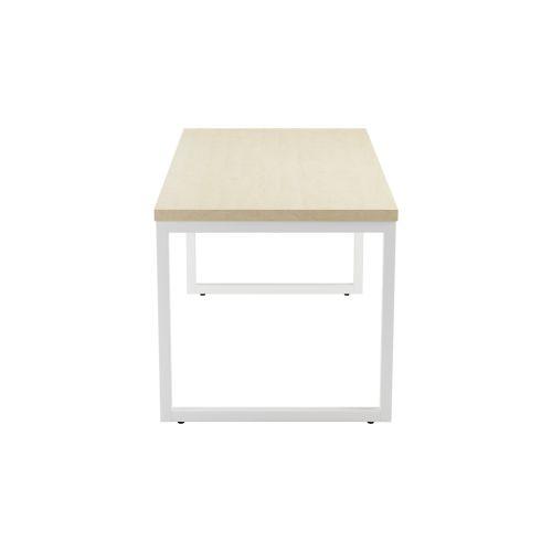 Brilliant Picnic Low Table 1600 Maple Top And White Legs Uwap Interior Chair Design Uwaporg