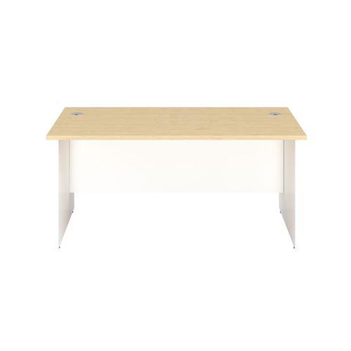 1800X800 Panel Rectangular Desk Maple-White