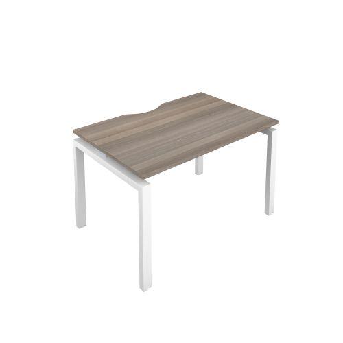 Premium 1 Person Bench 1200 X 800 Cut Out Grey Oak-White