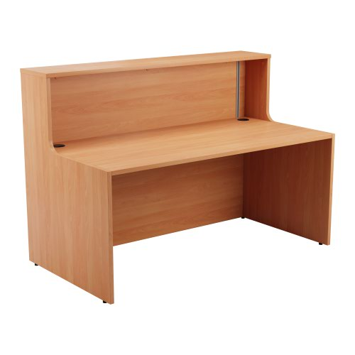 Reception Unit 1400 - Beech Sides With Beech Top Version 2