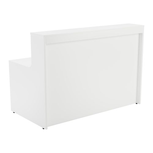 Jemini White 1400mm Reception Unit KF839531 Reception Desks KF839531