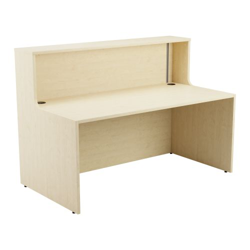 Reception Unit 1600 - Maple Sides With Maple Top