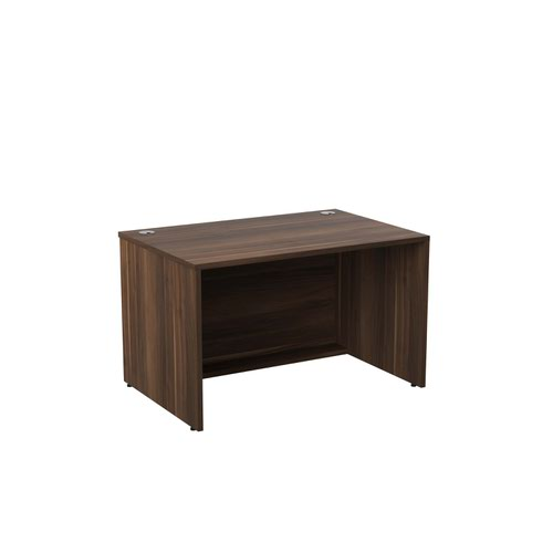 Jemini Reception Modular Desk Unit 1200mm Dark Walnut RCM1200SBUDW