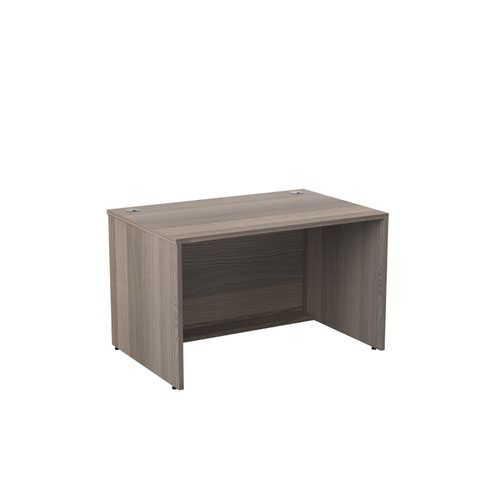 Jemini Reception Modular Desk Unit 1200mm Grey Oak RCM1200SBUGO
