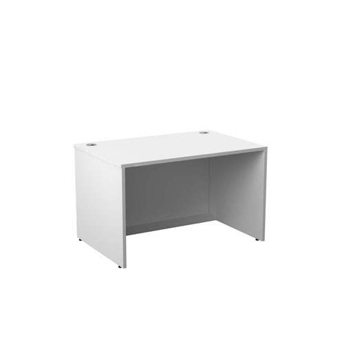 Jemini Reception Modular Desk Unit 1200mm White RCM1200SBUWH