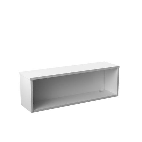 Reception Modular 1200W Straight Hutch Unit White