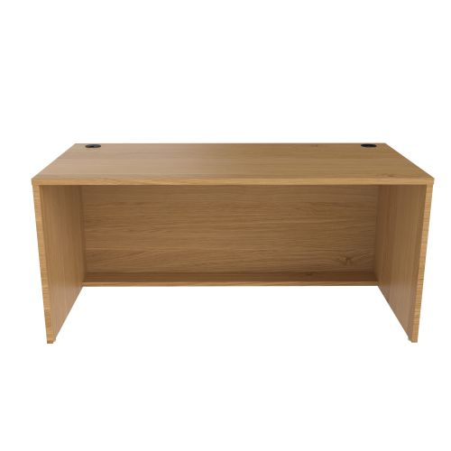 Jemini Reception Modular Base Unit 1600mm Nova Oak RCM1600SBUNO