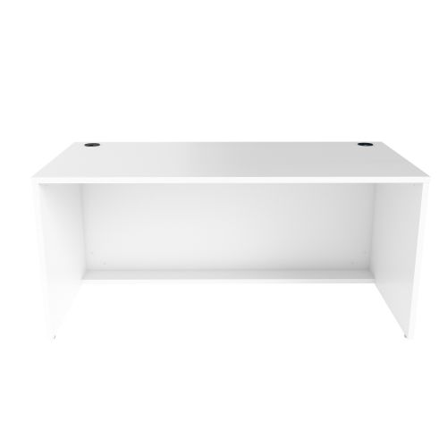 Jemini Reception Modular Desk Unit 1600mm White RCM1600SBUWH