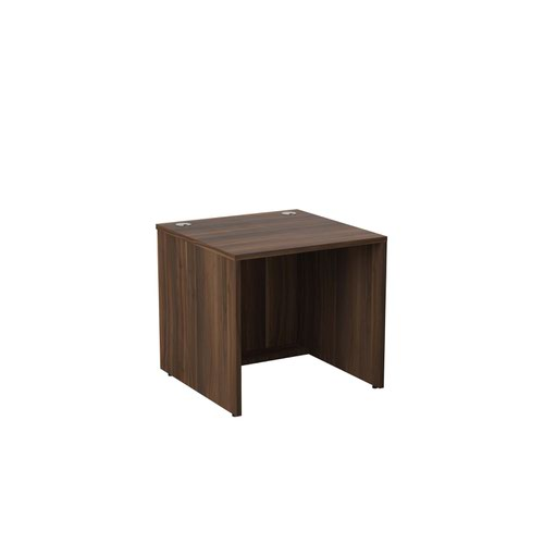 Jemini Reception Modular Desk Unit 800mm Dark Walnut KF71534