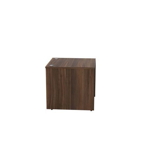 Jemini Reception Modular Desk Unit 800mm Dark Walnut RCM800SBUDW Reception Desks KF71534
