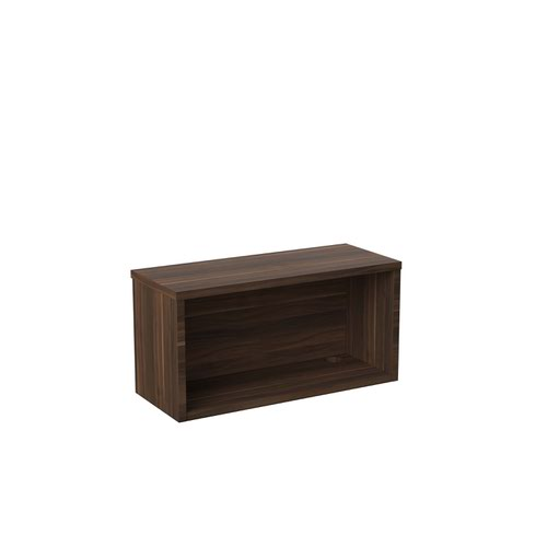 Jemini Reception Modular Riser Unit 800mm Dark Walnut KF71535