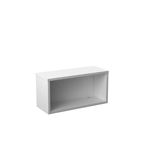 Reception Modular 800W Straight Hutch Unit White