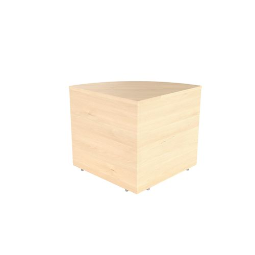 Reception Modular Corner Base Unit Maple