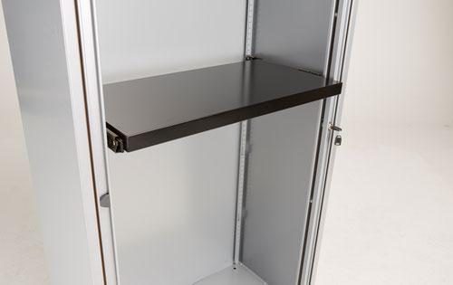 Bisley Essentials Roll-Out Shelf - Black